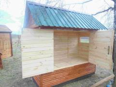 Будиночок для пчелотерапии (пчелолежанка)