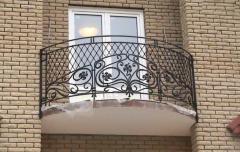 Балконы кованые Киев, Кованые металлические перила