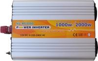 Инвертор NV-M1000Вт, 12В-220В, модифицированный
