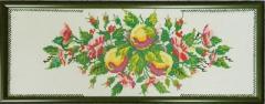 Картина Яблочный натюрморт, к.527