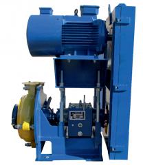 Насосный агрегат 5/4W-А-(1L)-325L-55-РЕТ с