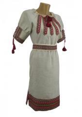 Красивое подростковое вышитое платье изо...