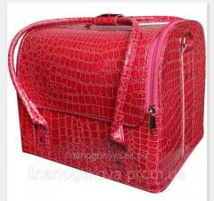 Маникюрный чемодан из экокожи