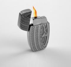 Зажигалка «Автомобильное колесо»