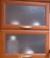 Glass facades for cabinet furniture