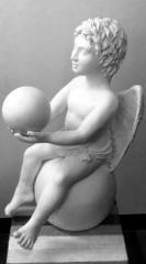Sculpture ceramic Angel