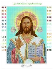 Outline Jesus Pantokrator (Wedding couple small)