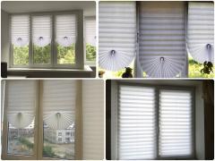 Солнцезащитные Бумажные жалюзи, шторы плиссе