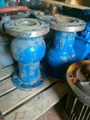 Backpressure valve 19nzh68nzh Du100 Ru63