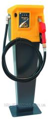 Fuel-dispensing column for diesel fuel with a