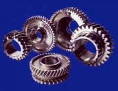 Gear wheels cylindrical with the module 0,5-20 and