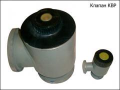 Клапан вакуумный ручной КВР-100, КВР-63, КВР-25
