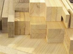 Евробрус сосновый высшего качества для производства деревянных окон