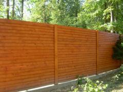 Забор деревянный Украина