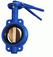 Locks Butterfly stroke with a corrosion-proof disk