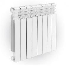 The radiator is bimetallic