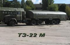 Fuel refueller TZ-22/fuel-servicing truck