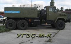 Унифицированная газозарядная станция УГЗС-МК/