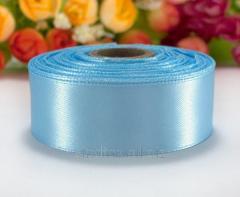 "Лента атласная 2,5см 23 метра ""LiaM"", лента нежно-голубого цвета (сп7нг-5090)"