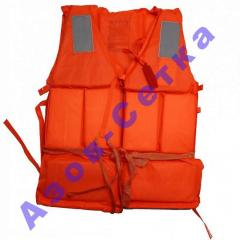 Spasatelna vest orange, the price (to buy) in