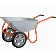 Тачка строительно-садовая Gruntek Профи 2-120 (120 л, 360 кг) (297120360)