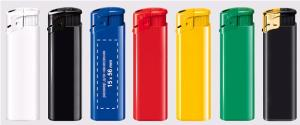 Lighters with a logo and with