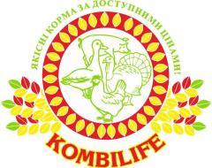 Корма комбинированные TM Kombilife для животных
