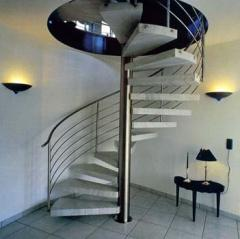 Spiral staircases, Kharkiv