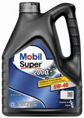 Моторное масло Mobil Super 2000 x3 5W-40 4л