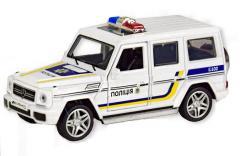 Машина MERSEDES BENZ G65 Полиция Автопром 7844-4