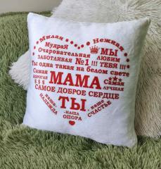 Плюшевая Подушка Для Мамочки