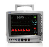 Cardiological monitor of the patient of G3D HEACO