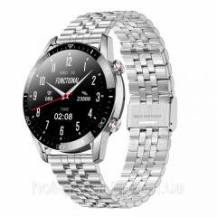Смарт-часы Bakeey Arma Black (тонометр, ...