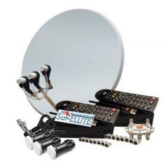 На 2 ТВ с Т2 + Wi-Fi комплект спутникового...