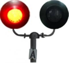 Railway crossing Traffic lights LED SP2-200 and