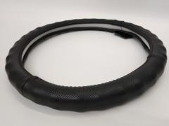 Оплетка кожа 396 L черная перфорированная под