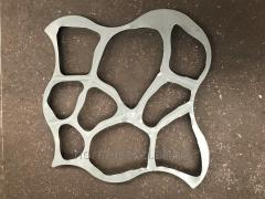 "Plastic mold for garden path ""Round"