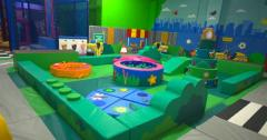 Детская игровая зона 100 кв.м TIA-SPORT