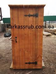Туалет деревянный Лиман Донецкая область