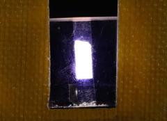 Новые наногибридные пленки для эмиссионных слоев