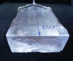 Кристаллы сапфира с рекордной толщиной пластин