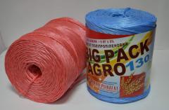 Шпагат полипропиленовый в ассортименте от производителя,возможен экспорт