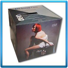 Boxes are advertizing
