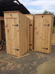Туалет деревянный эконом