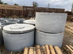 Reinforced concrete rings for wells