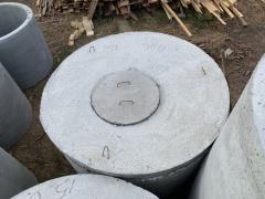 Крышка железобетонная диаметр 1,5м