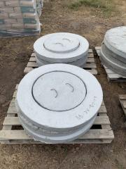 Крышка железобетонная диаметр 1,16м