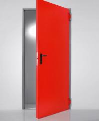 Техническая одностворчатая металлическая дверь UNIVER MULTIUSO