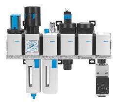 Устройства очистки и подготовка сжатого воздуха MSB4-1 4-C3-J3-M1-D7-A1-F3-WP