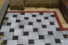 Тротуарная плитка , квадрат большой (200х200х60),